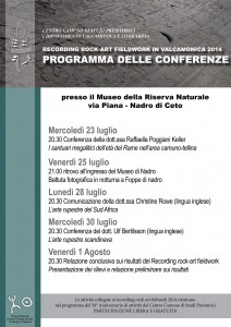 conferenza recording rock-art fieldwork